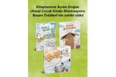 Kitaplarımız Aydın Doğan Ulusal Çocuk Kitabı İllüstrasyonu Başarı Ödülleri'nin sahibi oldu!