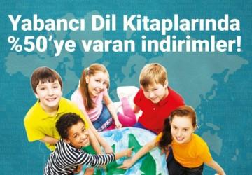 Yabancı Dil Kitapları Kampanyası